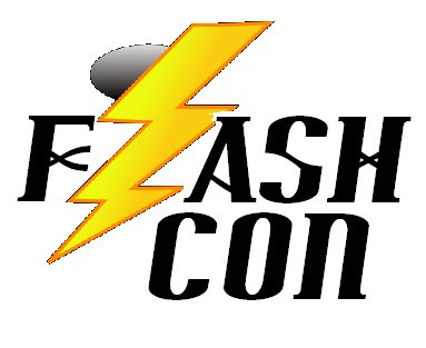 FlashCon logo.