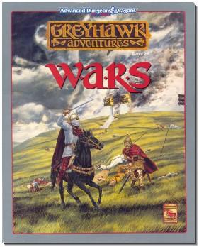 Greyhawk: Wars cover.