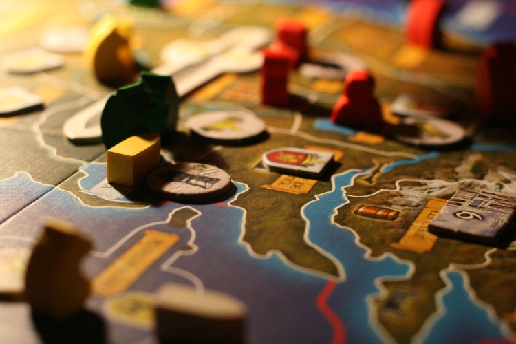 A Game of Thrones board game. Photo by François Philipp.