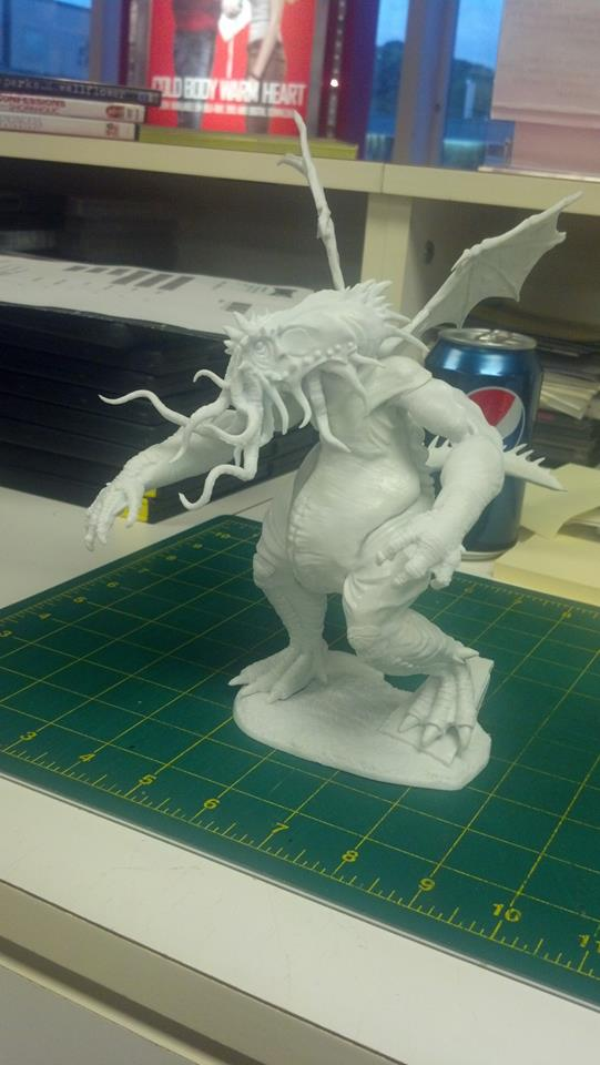 Cthulhu, dry-assembled. Photo by Josh.