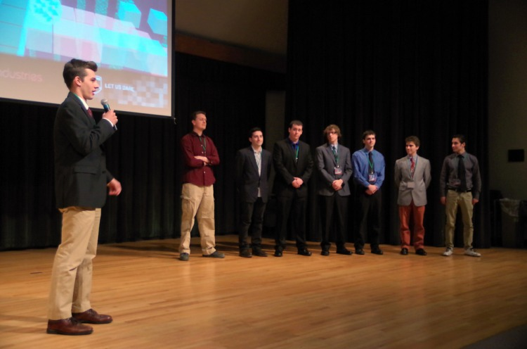 The 2014 Senior Game Show at Champlain College. Photo by Steve Mease, used with permission.