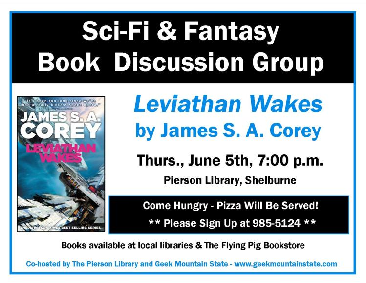 Sci Fi Fantasy Book Club Leviathan