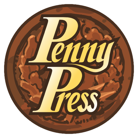Penny Press logo.
