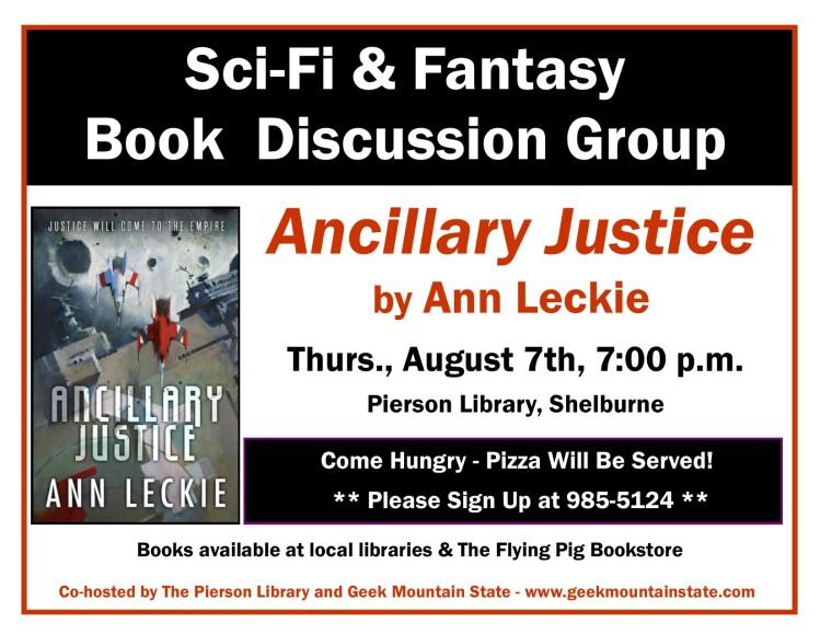 Sci Fi Fantasy Book Ancillary Justice