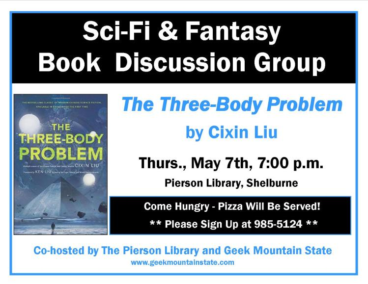 Sci Fi Fantasy Book Three Body Problem