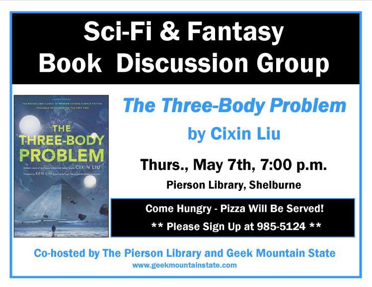Sci Fi Fantasy Book Three Body Problem