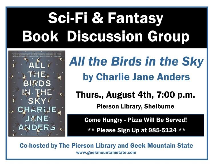 Sci Fi Fantasy Book All the Birds