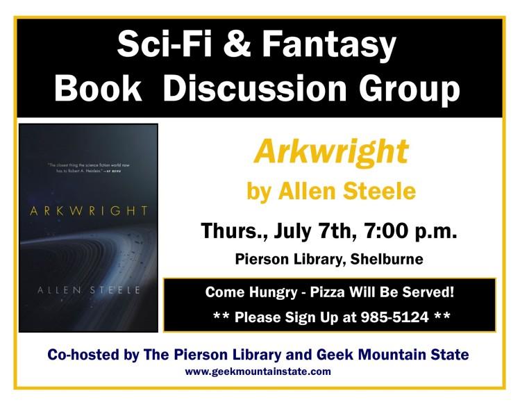 Sci Fi Fantasy Book Arkwright