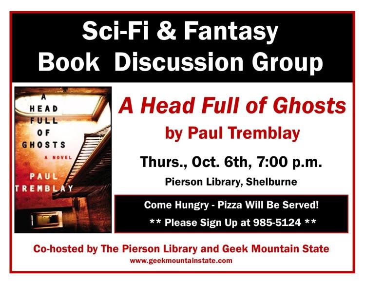 Sci Fi Fantasy Book Head Full of Ghosts