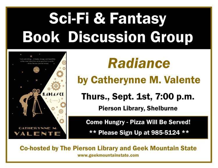 Sci Fi Fantasy Book Radiance