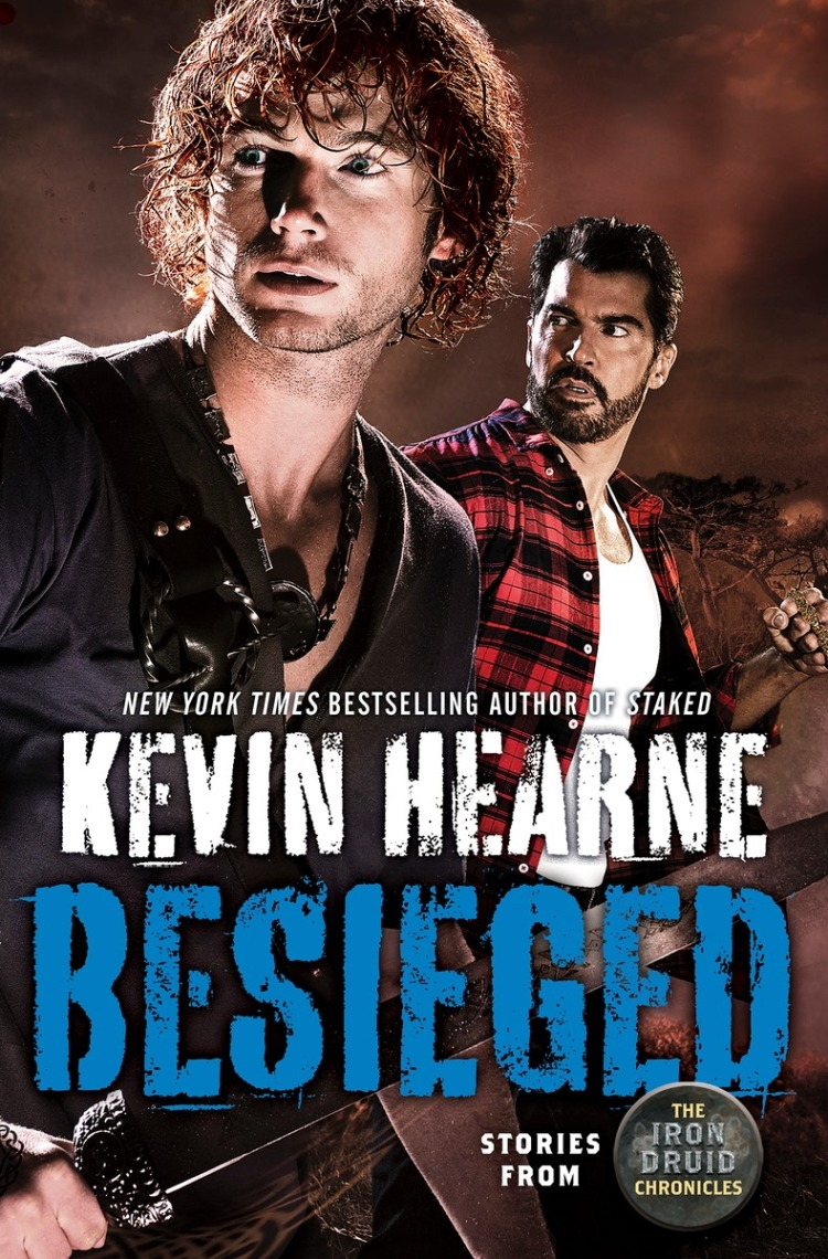 BESIEGED cover - Kevin Hearne